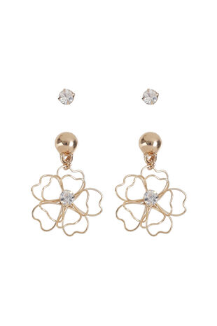Muse Flower Earring Multipack