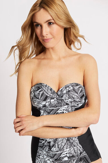 Ruched Front Multiway Swimsuit