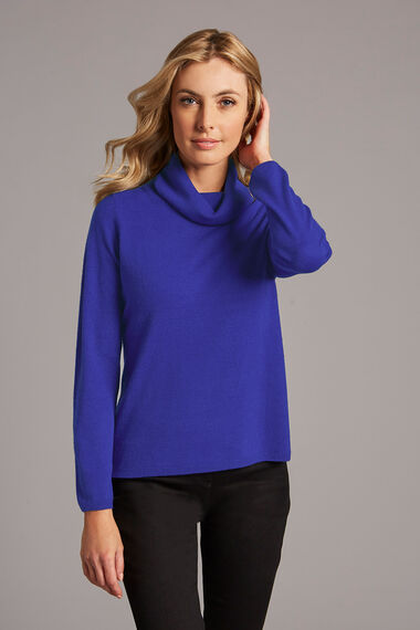 Supersoft Cowl Neck Jumper