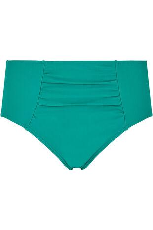 Plain High Waisted Bikini Brief