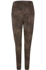 Blurred Spot Jersey Harem Trousers