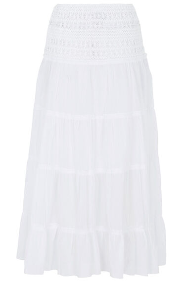 Izabel Tiered Maxi Skirt