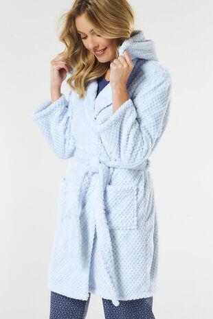 Short Hooded Robe