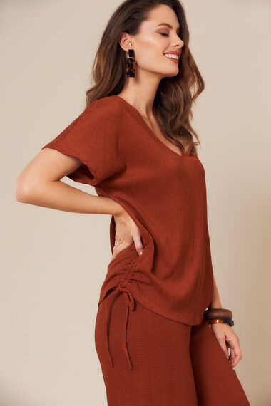 Grace By Eda Side Detail Tunic