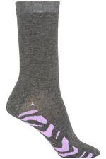 Animal Footbed 3 Pack Sock