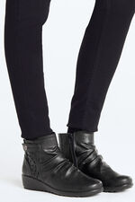 Cushion Walk Ankle Boot with Cut Out Detail