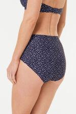 Spot High Waist Bikini Brief