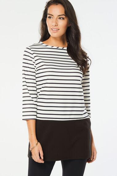 Stripe Jersey Tunic