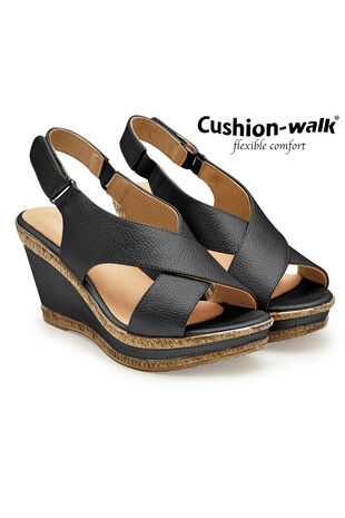Cushion Walk Granada Cross Over Wedge