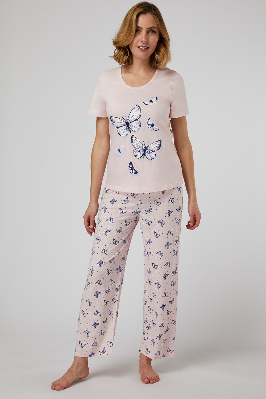 Ladies Pyjama Top Womens M/&S PJ Cosy Soft Velour Fleece Grey Long Sleeve Size 22