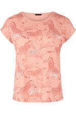 Foil Zebra Print T-Shirt