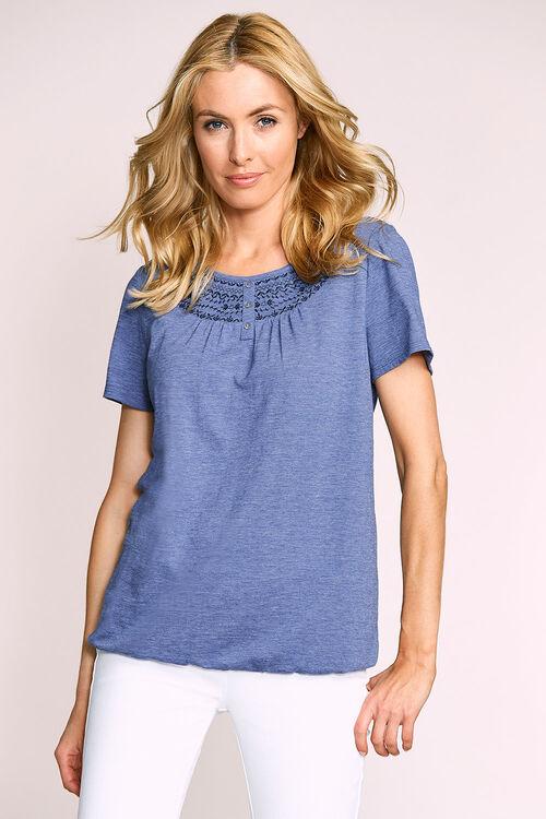 Embroidered Raglan Gypsy T-Shirt