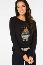 Sequin Rabbit Jumper