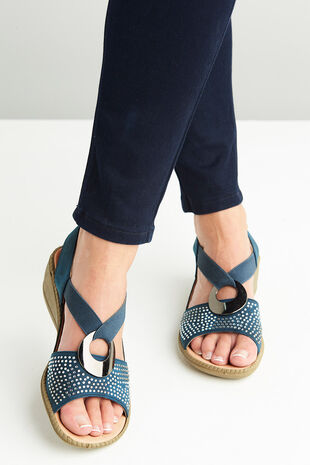 Cushion Walk Valetta Ring Elastic Sandal