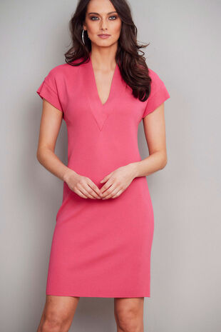 Join Us V-Neck Dress