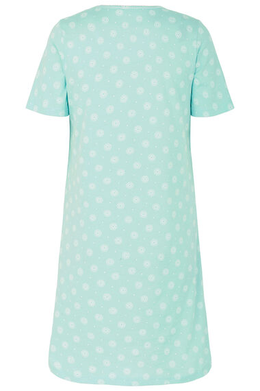 Aqua Geo Spot Nightdress