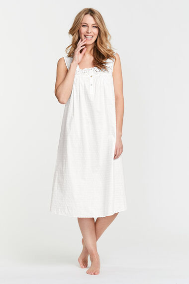 Textured Spot Nightdress