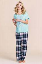 Hedgehog Placement Print Pyjamas