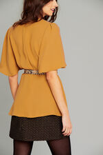 Salvari V Neck Blouse