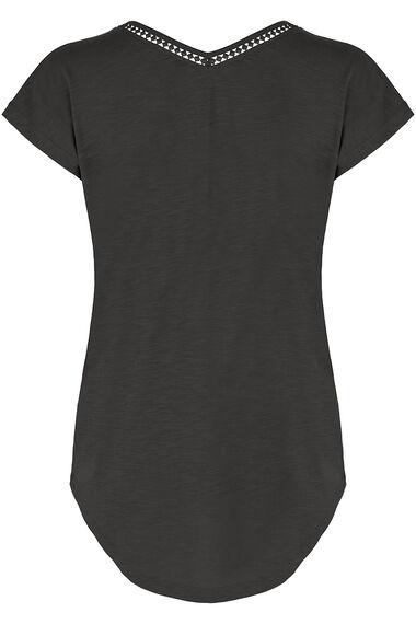 Short Sleeve Slub T-Shirt