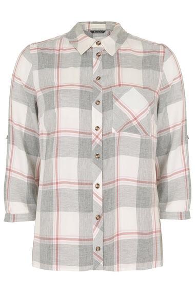 Collared Check Shirt