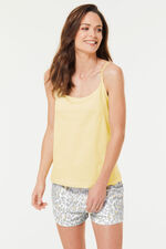 Animal Print Cami Top and Short Pyjama Set