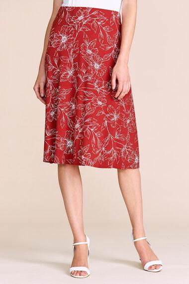 Jersey Printed Skirt