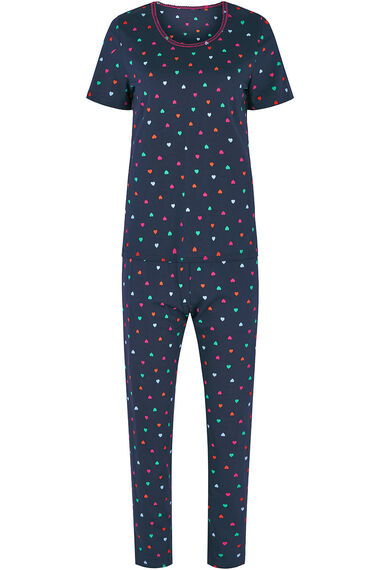 Heart Print Pyjama Set