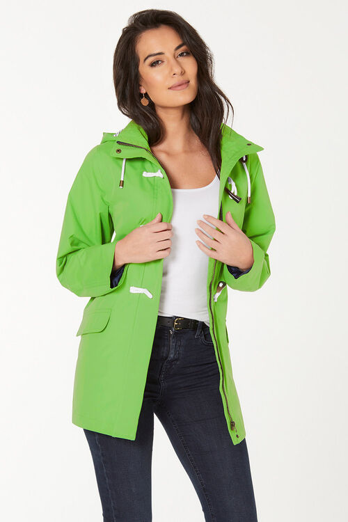 Waterproof Coat with Toggle
