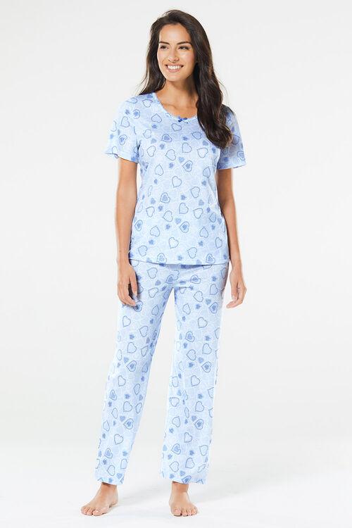 Heart Print Pyjamas