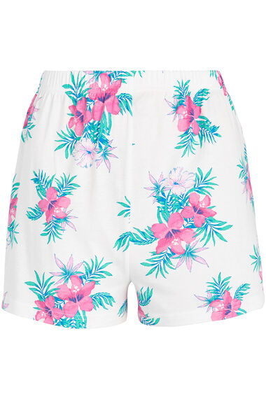 Tropical Floral Pyjama Short Set