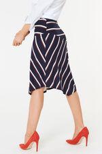 Stripe Jersey Skirt