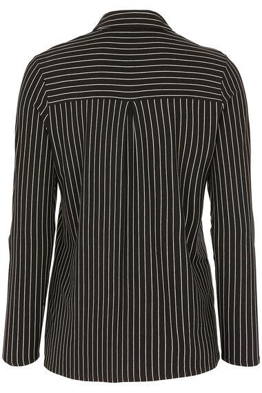 Narrow Stripe Jersey Shirt