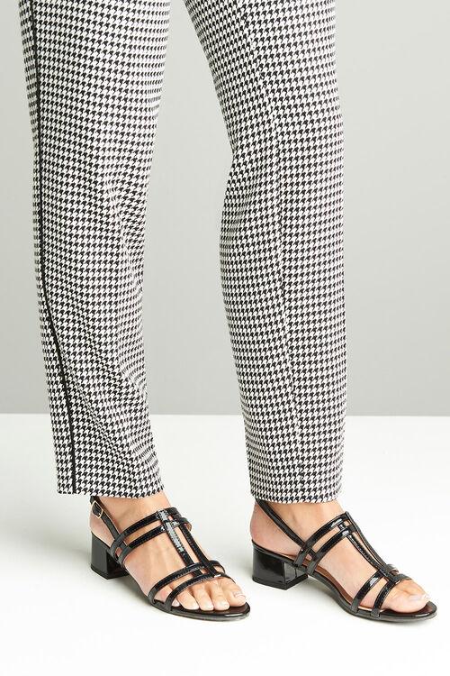 Comfort Plus Block Heel Sandal