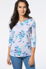 Stargazer Floral Print T-Shirt