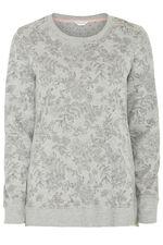 Grey Floral Pyjama Set