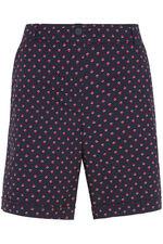 Geo Spot Essential Cotton Shorts