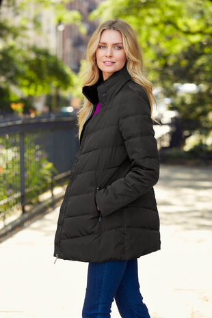 Padded Jacket with Concealed Hood