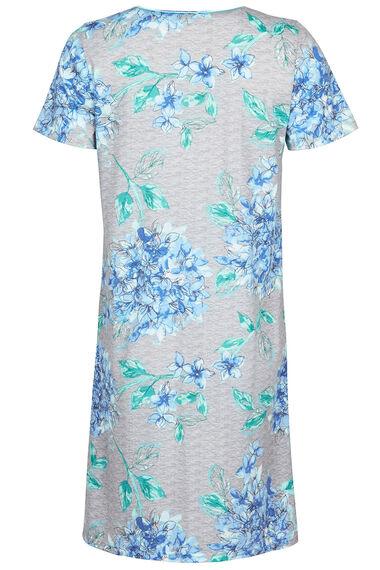 Hydrangea Print Nightdress