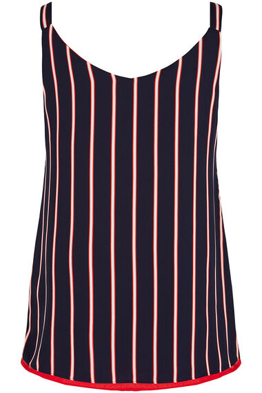 Reversible Cami in Stripe Print