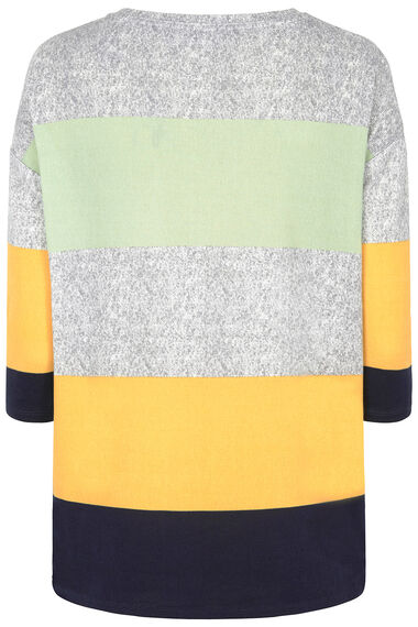 Soft Touch Colour Block Sweat