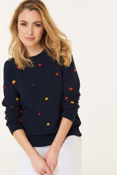 All Over Bobble Jumper