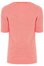Half Sleeve Stripe T-Shirt