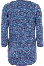 Printed Cotton Modal Jersey Tunic