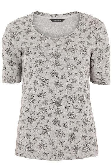 Half Sleeve Printed T-Shirt