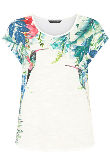 Hummingbird Print T-Shirt