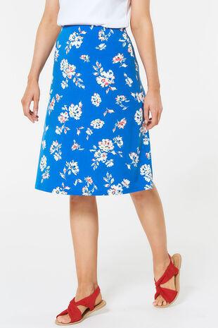 Botanical Floral Flippy Skirt