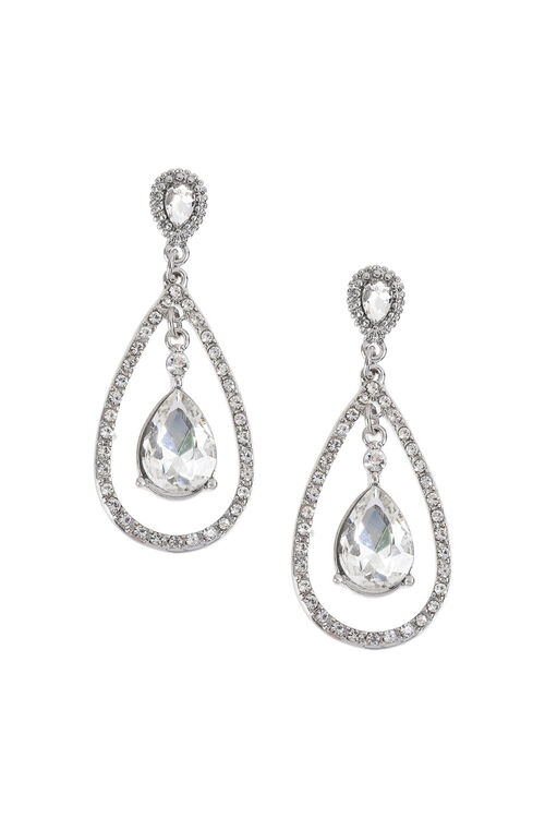 Muse Sparkle Oval Drop Earring