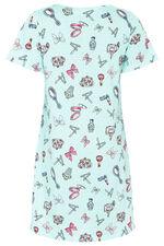 Cosmetic Spot Print Nightdress