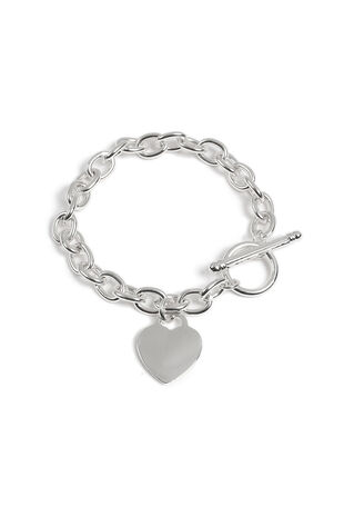 Muse Heart T-Bar Bracelet